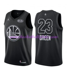 Golden State Warriors Trikot Herren Draymond Green 23# Schwarz 2018 NBA All Star Game Basketball Tri..