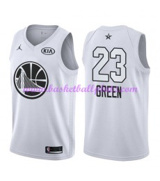 Golden State Warriors Trikot Herren Draymond Green 23# Weiß 2018 NBA All Star Game Basketball Trikot..