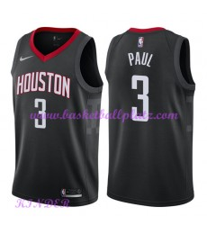 Houston Rockets NBA Trikot Kinder 2018-19 Chris Paul 3# Statement Edition Basketball Trikots Swingma..