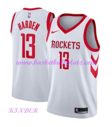 Houston Rockets NBA Trikot Kinder 2018-19 James Harden 13# Association Edition Basketball Trikots Sw..