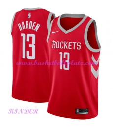 Houston Rockets NBA Trikot Kinder 2018-19 James Harden 13# Icon Edition Basketball Trikots Swingman..