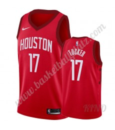 Houston Rockets Trikot Kinder 2019-20 P.J. Tucker 17# Rot Earned Edition NBA Trikots Swingman..