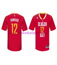 Houston Rockets Trikot Herren 15-16 Dwight Howard 12# Pride Basketball Trikot Swingman