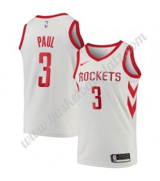 Houston Rockets Trikot Herren 2018-19 Chris Paul 3# Association Edition Basketball Trikots NBA Swing..