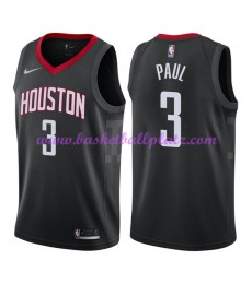 Houston Rockets Trikot Herren 2018-19 Chris Paul 3# Statement Edition Basketball Trikots NBA Swingma..