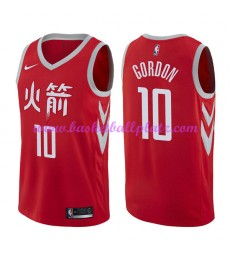 Houston Rockets Trikot Herren 2018-19 Eric Gordon 10# City Edition Basketball Trikots NBA Swingman..
