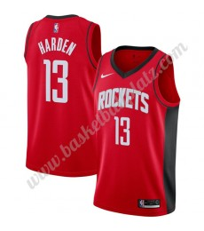 Houston Rockets Trikot Herren 2019-20 James Harden 13# Rot Icon Edition Basketball Trikots NBA Swing..