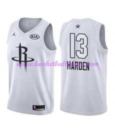 Houston Rockets Trikot Herren James Harden 13# Weiß 2018 NBA All Star Game Basketball Trikots Swingman