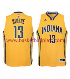 Indiana Pacers Trikot Kinder 15-16 Paul George 13# Alternate Basketball Trikot Swingman..