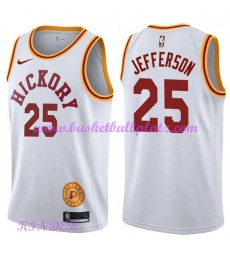 Indiana Pacers NBA Trikot Kinder 2018-19 Al Jefferson 25# Weiß Hardwood Classics Basketball Trikots ..