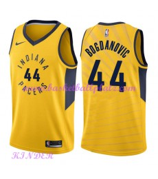 Indiana Pacers NBA Trikot Kinder 2018-19 Bojan Bogdanovic 44# Statement Edition Basketball Trikots S..