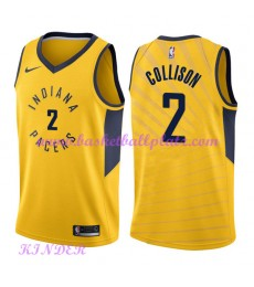 Indiana Pacers NBA Trikot Kinder 2018-19 Darren Collison 2# Statement Edition Basketball Trikots Swi..
