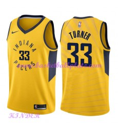 Indiana Pacers NBA Trikot Kinder 2018-19 Myles Turner 33# Statement Edition Basketball Trikots Swing..