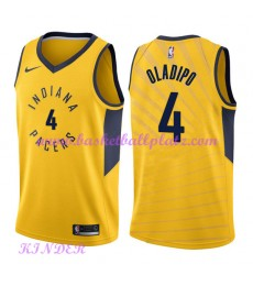 Indiana Pacers NBA Trikot Kinder 2018-19 Victor Oladipo 4# Statement Edition Basketball Trikots Swin..