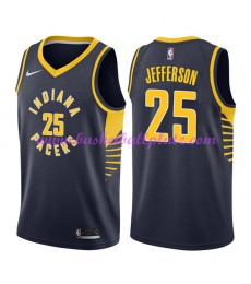 Indiana Pacers Trikot Herren 2018-19 Al Jefferson 25# Icon Edition Basketball Trikots NBA Swingman..