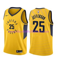 Indiana Pacers Trikot Herren 2018-19 Al Jefferson 25# Statement Edition Basketball Trikots NBA Swing..