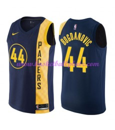 Indiana Pacers Trikot Herren 2018-19 Bojan Bogdanovic 44# City Edition Basketball Trikots NBA Swingm..