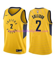 Indiana Pacers Trikot Herren 2018-19 Darren Collison 2# Statement Edition Basketball Trikots NBA Swi..