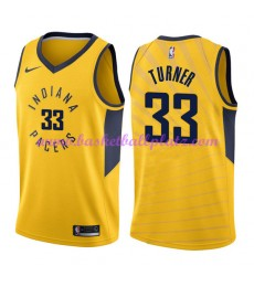Indiana Pacers Trikot Herren 2018-19 Myles Turner 33# Statement Edition Basketball Trikots NBA Swing..
