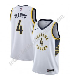 Indiana Pacers Trikot Herren 2018-19 Victor Oladipo 4# Association Edition Basketball Trikots NBA Sw..