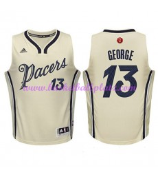Günstige NBA Weihnachten Basketball Trikots Indiana Pacers Herren 2015 Paul George 13# Swingman