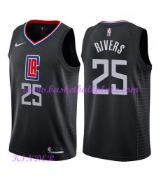 Los Angeles Clippers NBA Trikot Kinder 2018-19 Austin Rivers 25# Statement Edition Basketball Trikot..