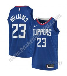 Los Angeles Clippers Trikot Kinder 2019-20 Lou Williams 23# Blau Icon Edition NBA Trikots Swingman..