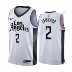 Los Angeles Clippers Trikot Kinder 2019-20 Kawhi Leonard 2# Weiß City Edition NBA Trikots Swingman