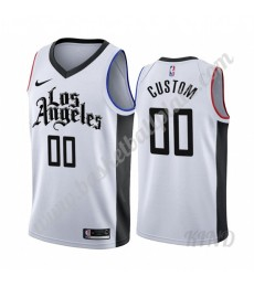Los Angeles Clippers Trikot Kinder 2019-20 Weiß City Edition NBA Trikots Swingman..