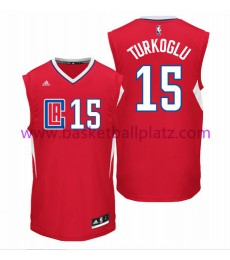 Los Angeles Clippers Trikot Herren 15-16 Hedo Turkoglu 15# Road Basketball Trikot Swingman