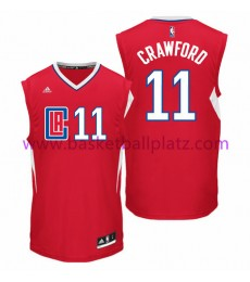 Los Angeles Clippers Trikot Herren 15-16 Jamal Crawford 11# Road Basketball Trikot Swingman