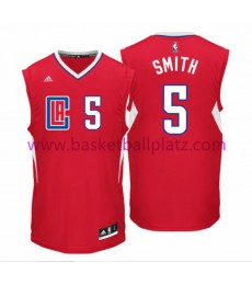 Los Angeles Clippers Trikot Herren 15-16 Josh Smith 5# Road Basketball Trikot Swingman