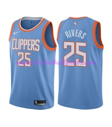 Los Angeles Clippers Trikot Herren 2018-19 Austin Rivers 25# City Edition Basketball Trikots NBA Swi..