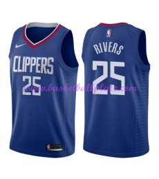 Los Angeles Clippers Trikot Herren 2018-19 Austin Rivers 25# Icon Edition Basketball Trikots NBA Swi..