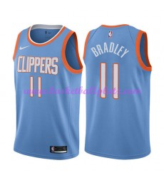 Los Angeles Clippers Trikot Herren 2018-19 Avery Bradley 11# City Edition Basketball Trikots NBA Swi..
