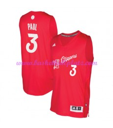 Günstige NBA Weihnachten Basketball Trikots Los Angeles Clippers Herren 2016 Chris Paul 3# Swingman
