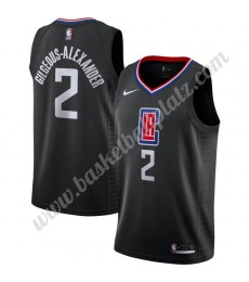 Los Angeles Clippers Trikot Herren 2019-20 Shai Gilgeous-Alexander 2# Statement Edition Basketball T..