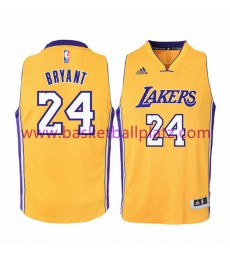 Los Angeles Lakers Trikot Kinder 15-16 Kobe Bryant 24# Gold Home Basketball Trikot Swingman..