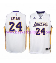 Los Angeles Lakers Trikot Kinder 15-16 Kobe Bryant 24# Weiß Home Basketball Trikot Swingman..