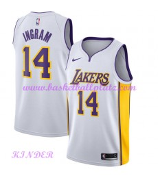 Los Angeles Lakers NBA Trikot Kinder 2018-19 Brandon Ingram 14# Association Edition Basketball Triko..