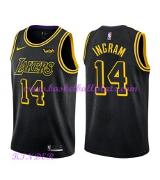 Los Angeles Lakers NBA Trikot Kinder 2018-19 Brandon Ingram 14# City Edition Basketball Trikots Swin..