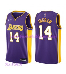 Los Angeles Lakers NBA Trikot Kinder 2018-19 Brandon Ingram 14# Statement Edition Basketball Trikots..