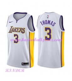 Los Angeles Lakers NBA Trikot Kinder 2018-19 Isaiah Thomas 3# Association Edition Basketball Trikots..