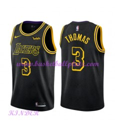 Los Angeles Lakers NBA Trikot Kinder 2018-19 Isaiah Thomas 3# City Edition Basketball Trikots Swingm..