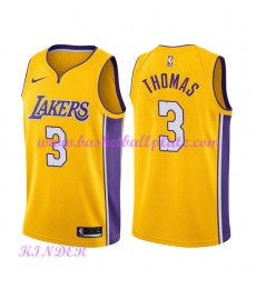 Los Angeles Lakers NBA Trikot Kinder 2018-19 Isaiah Thomas 3# Icon Edition Basketball Trikots Swingm..
