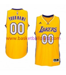 Los Angeles Lakers Trikot Herren 15-16 Gold Home Basketball Trikot Swingman