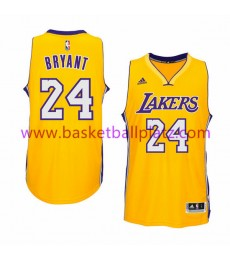 Los Angeles Lakers Trikot Herren 15-16 Kobe Bryant 24# Gold Home Basketball Trikot Swingman
