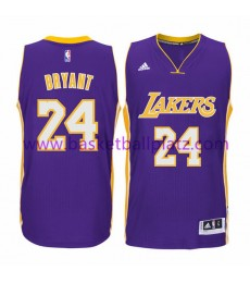 Los Angeles Lakers Trikot Herren 15-16 Kobe Bryant 24# Road Basketball Trikot Swingman