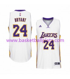 Los Angeles Lakers Trikot Herren 15-16 Kobe Bryant 24# Weiß Home Basketball Trikot Swingman