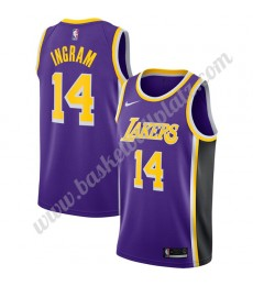 Los Angeles Lakers Trikot Herren 2019-20 Brandon Ingram 14# Lila Statement Edition Basketball Trikot..